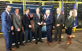 Premier Tech Expansion announced by Governor Northam