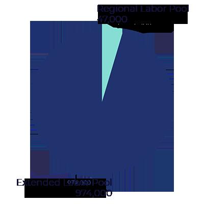 Labor Pool Pie Chart