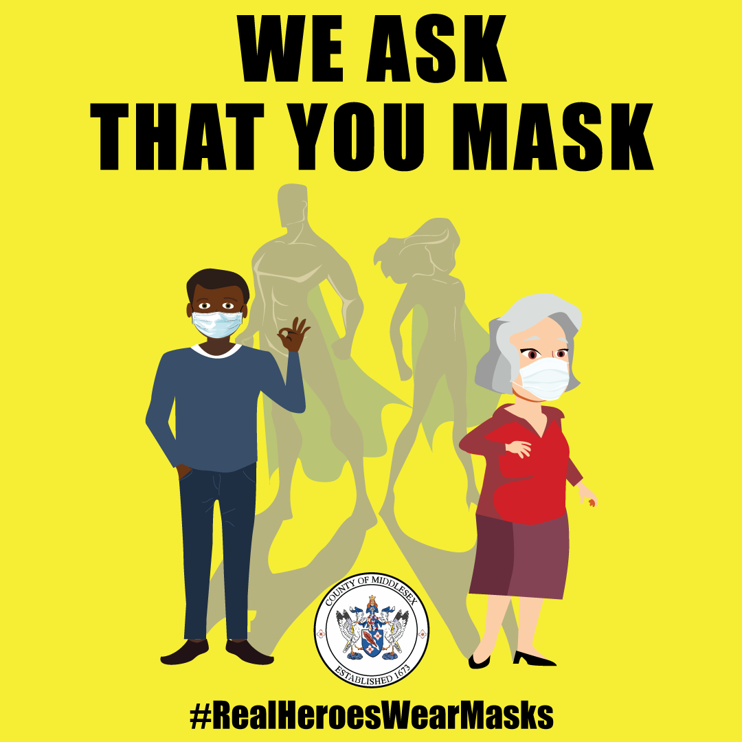 We ask that you wear a mask